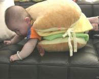 ילד המבורגר