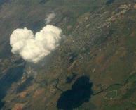 ענן בצורת לב..