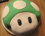 עוגת פטריית מריו