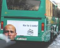 איש מעשן באוטובוס?