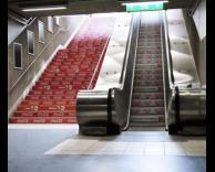 מדרגות קוקה קולה
