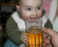 אלכוהוליסט מגיל קטן