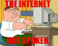 האינטרנט אמר את דברו