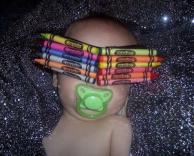 מכסה עיניים לתינוק