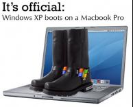 ווינודוס XP על ווינודס MAC