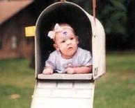 תינוק בדואר