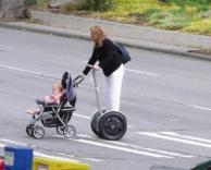 עגלה גם להורים