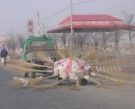 ככה מנקים רחובות בסין