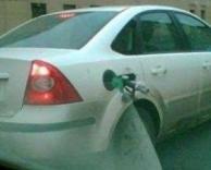ברח מלשלם דלק