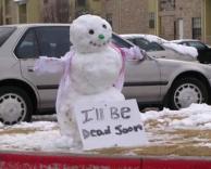 איש השלג המסכן