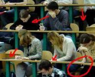 מבחן בקולג'...