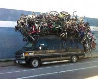 אוסף אופניים ענקי