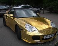 מכונית מזהב טהור (אמיתי לגמרי!)