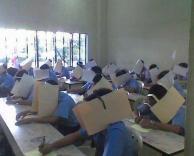 אסור להעתיק במבחן!