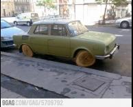 מכונית קצת עתיקה..