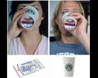 כוס שתייה מגניבה