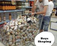 כשגברים הולכים לקניות