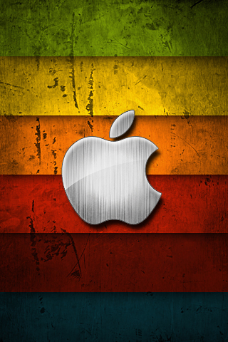 רקע לוגו אפל צבעוני