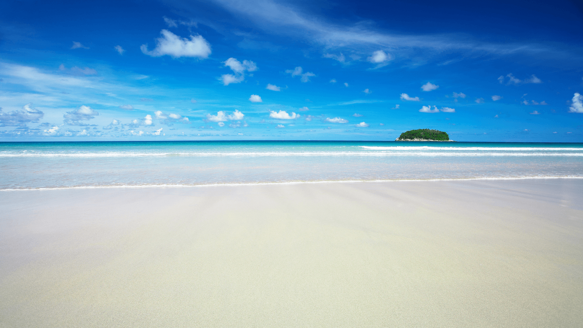 קו חוף נקי ומרשים