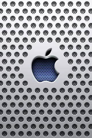 לוגו אפל בברזל