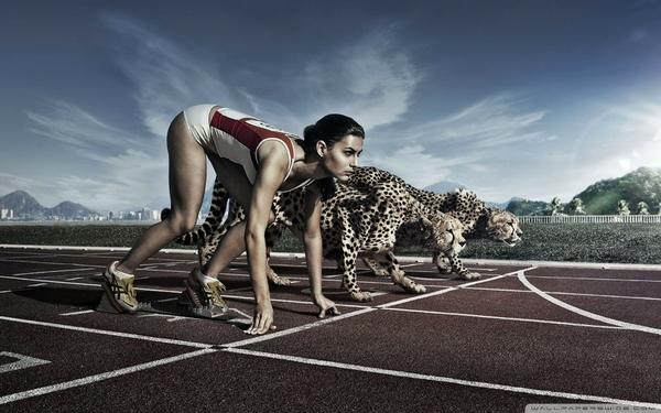 ריצה מהירה